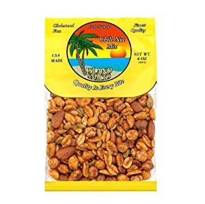 Island Snacks Chile Nut Mix 6-ounce Pack Of 6 from Island Snacks