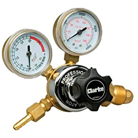 Clarke WE6540 2-Gauge Regulator with Adjusting Knob