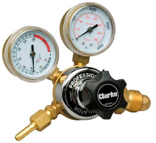 Clarke WE6540 2-Gauge Regulator with Adjusting Knob