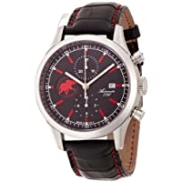 [ハンティングワールド]Hunting World 腕時計 エステティカ ブラック 黒革 自動巻き ETA7750 クロノグラフ メンズ HW017BKBK メンズ 【正規輸入品】