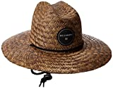 Billabong Men's Bazza Straw Hat-Chocolate by NYC Leather Factory Outlet
