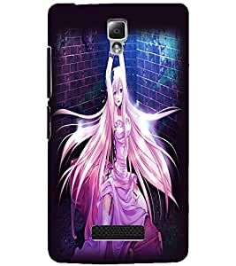 LENOVO A2010 BEAUTIFUL GIRL Back Cover by PRINTSWAG