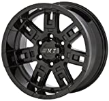 Mickey Thompson Sidebiter Gloss Black - 15 x 8 Inch Wheel
