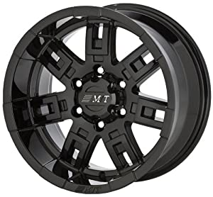 "Mickey Thompson Sidebiter Gloss Black Wheel (15x8""/5x4.5"")"