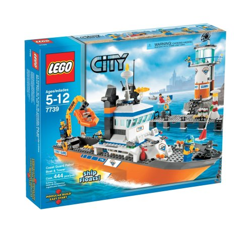 LEGO City Coast Guard Patrol Boat and Tower