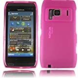 Gel Shell Case Cover For Nokia N8 / Pink