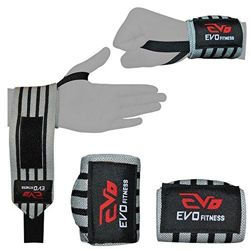 EVO bendaggi supporto polso per sollevamento pesi e palestra