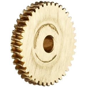 """Boston Gear D1136 Worm Gear, Plain, 20 PA Pressure Angle, 0.250"""" Bore"""