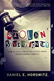 img - for Stolen Sovereignty: How to Stop Unelected Judges from Transforming America book / textbook / text book