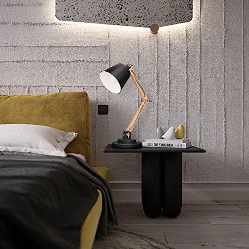 tomons schwenkbare schreibtischlampe leselampe retro design f r schreibtisch und nachttisch. Black Bedroom Furniture Sets. Home Design Ideas