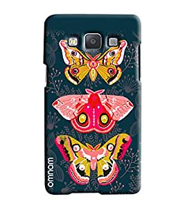 Omnam Butterfly Flying Effect Printed Designer Back Cover Case For Samsung Galaxy E7