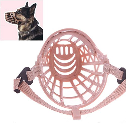 Plastic Basket Muzzle For Dogs front-1059642