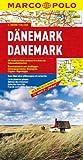 Danemark - Carte routière et touristique - Avec plan du centre-ville de Copenhague - Echelle : 1/300 000