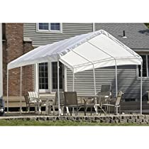 ShelterLogic 10 x 20- Feet Canopy Replacement Cover, Fits 2- Inch Frame