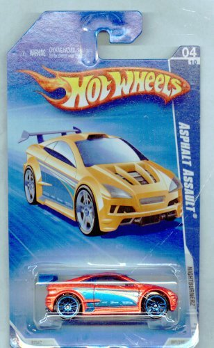 Hot Wheels 2010-092/240 Nightburnerz 04/10 Asphalt Assault 1:64 Scale - 1