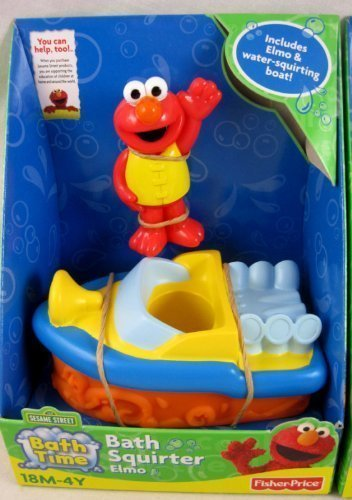 Elmo Bath Squirter - 1