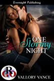 img - for One Stormy Night (Romance on the Go) book / textbook / text book