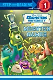 Monster Games (Disney/Pixar Monsters University) (Step into Reading)