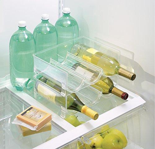 Mdesign Kitchen Cabinet Organizers Storage For Fridge