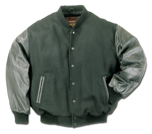 WOMEN VARSITY LEATHER JACKET BY REED (IMPORTED) by REED