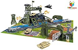 Toys Bhoomi Special Forces Military Base Play Set