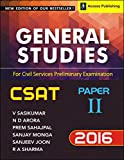 Top reviews Good one almost covers all the topics precisely. Perfect for CSAT… Amit, 11 April 2015 Really good for CSAT ... and has standard practice questions, the book is very good . . . Anil Kumar Athokpam…25 May, 2015 Nice book written by...