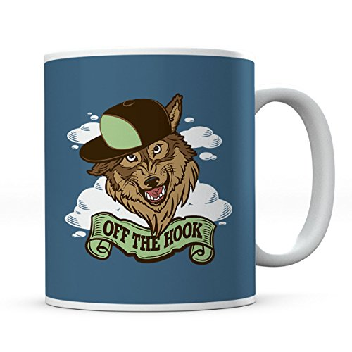 Adventure Time Off The Hook Party God Wolf Mug