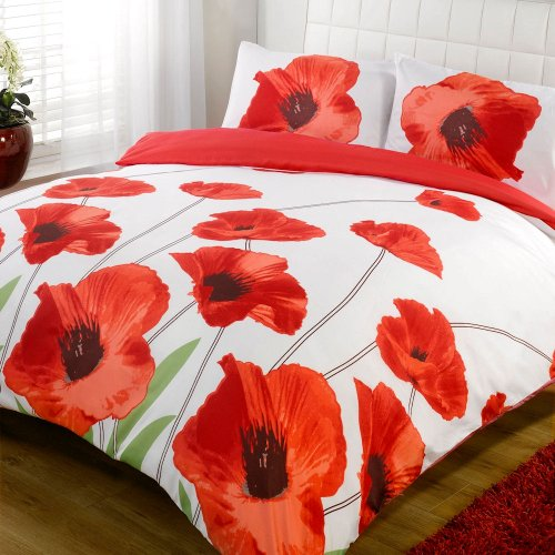 Red Duvet Cover Twin front-122133