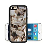 Luxlady Premium Apple iPhone 6 iPhone 6S Aluminium Snap Case Ginseng strips IMAGE ID 486104