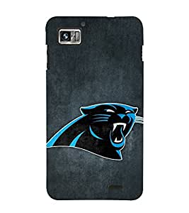 Vizagbeats Blue panther Back Case Cover for Lenovo S 860