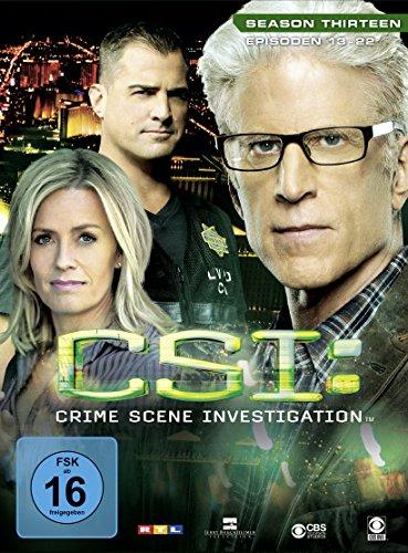 CSI: Crime Scene Investigation - Season 13.2 [Limited Edition] [3 DVDs]