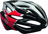 Bell Array Helmet - Silver/Red/Black Velocity, Large