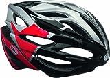 Bell Array Helmet - Silver/Red/Black Velocity, Large
