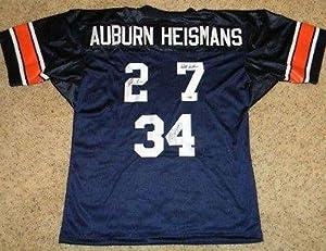Cam Newton Bo Jackson Pat Sullivan Signed Auburn Tigers Heisman Jersey Gtsm -... by Sports+Memorabilia