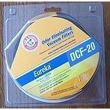 Eureka Hepa Filter DCF-20 Fits Model Series Eureka* 3040 Series Upright Models Odor Eliminating Vacuum Filter Arm & Hammer