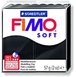 Staedtler Fimoâ soft Pâte à modeler 57 g Noir