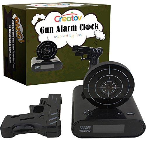 Top 5 Best Gun Alarm Clock Laser Target For Sale 2016