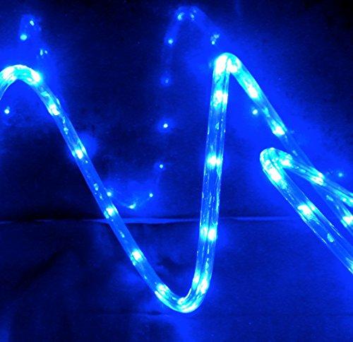 Led String Lights Home Hardware : Izzy Creation 18FT Blue LED Flexible Rope Light Kit, Indoor / Outdoor Lighting, Home, Garden ...