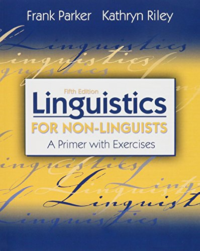 Linguistics for Non-Linguists: A Primer with Exercises (5th Edition) (Phonetics Diagram compare prices)
