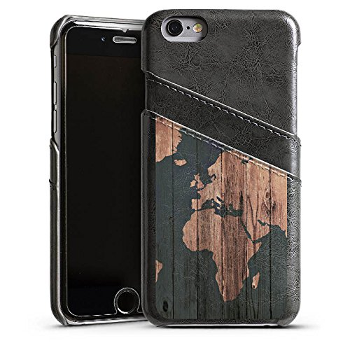 apple-iphone-6s-shell-sleeve-case-with-slits-for-credit-card-wallet-cover-world-map-wood-earth