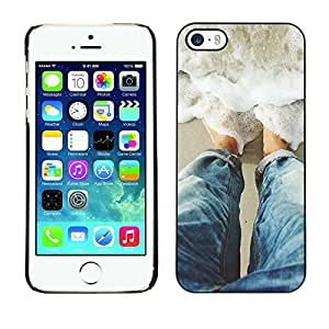 Omega Covers - Snap on Hard Back Case Cover Shell FOR Apple iPhone 5 / 5S - Sun Water Surf Summer Waves