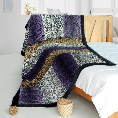 Onitiva - [Imagination] Patchwork Throw Blanket (61 By 86.6 Inches)