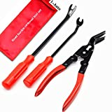 1-Auto [3 Pcs] Clip Plier Set & Fastener Remover - The Most Essential Combo Repair Kit