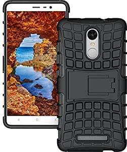 Reboot Tough TPU Hard Back Defender Back Case with Stand for Redmi Note 3 / Note 2 Pro