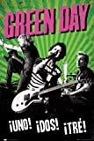 Posters: Green Day Poster - Uno! Dos! Tre! Tour (36 x 24 inches)
