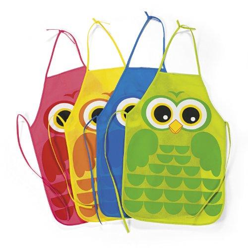 Owl Kiddie Aprons (1 dz)