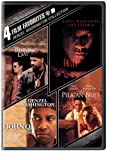 Cover art for  4 Film Favorites: Denzel Washington