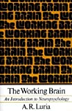 img - for The Working Brain: An Introduction to Neuropsychology   [WORKING BRAIN] [Paperback] book / textbook / text book
