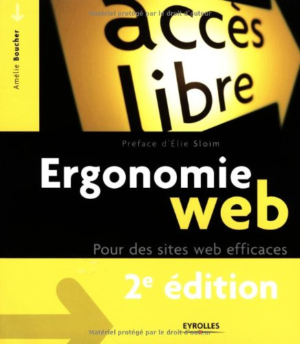 Ergonomie Web (French Edition)