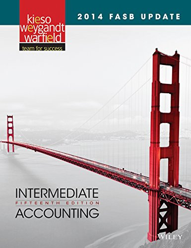 2014 FASB Update Intermediate Accounting 15e + WileyPLUS Registration Card